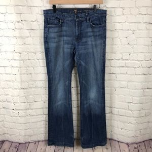 7 For All Man Kind High Waist Bootcut size 31